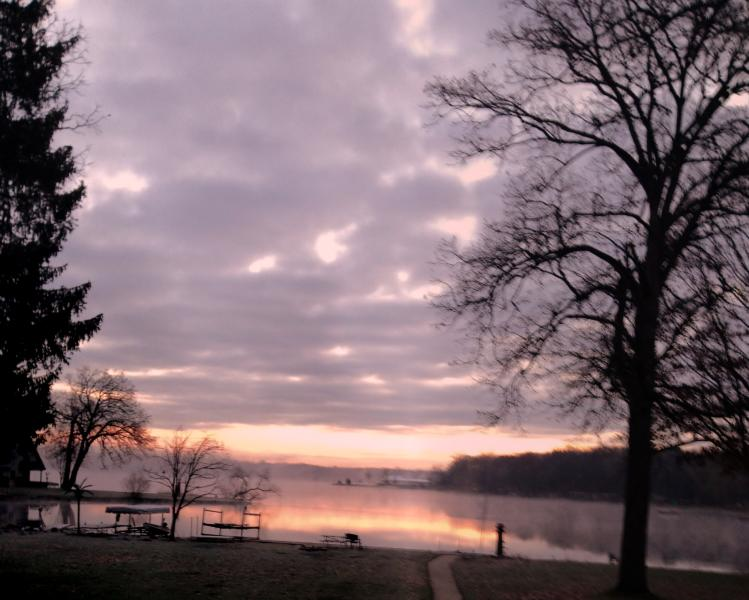 An amazing winter morning view! - Strawberry Lake Home is waiting for you! - Lakeland - rentals