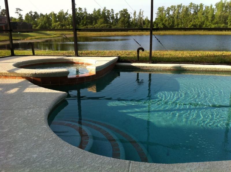 South Facing / Lake Front Pool & Spa - Grand Opening- 7 Bedroom Condo South Facing Pool, Spa, and Games - Kissimmee - rentals