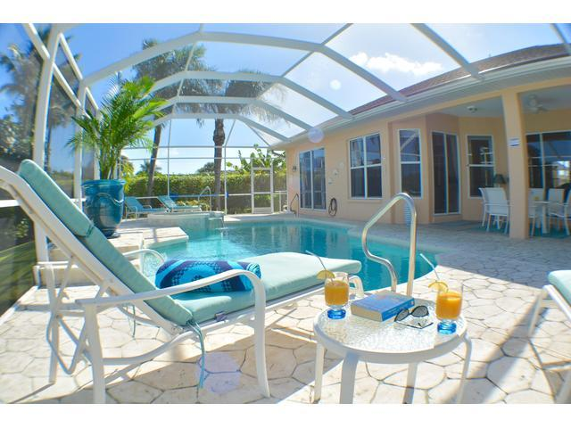Pool - Villa Aruba - Modern Villa with Spa on 8 Lakes - Cape Coral - rentals