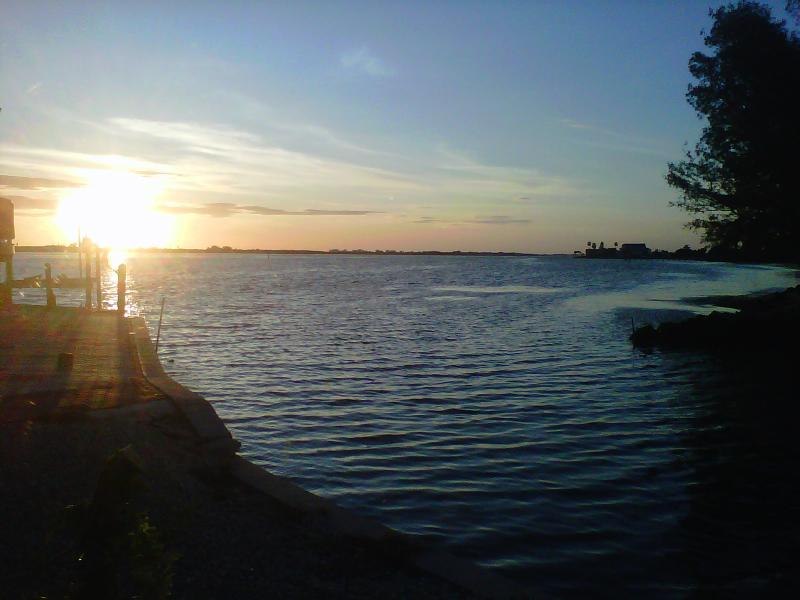 View from Living Room Couch - Florida Home on Intercoastal Waterway + Boat Dock - Englewood - rentals