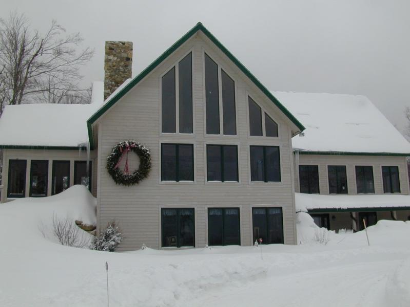 Winter - Stratton ski lodge wth mountain views - Stratton Mountain - rentals