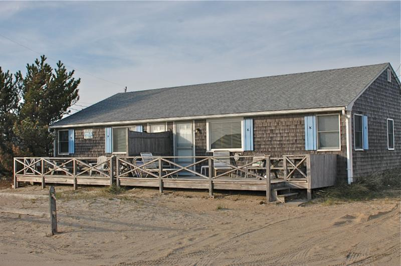 Front of Cottage - Beachside House -Private Beach-Ocean View - West Dennis - rentals