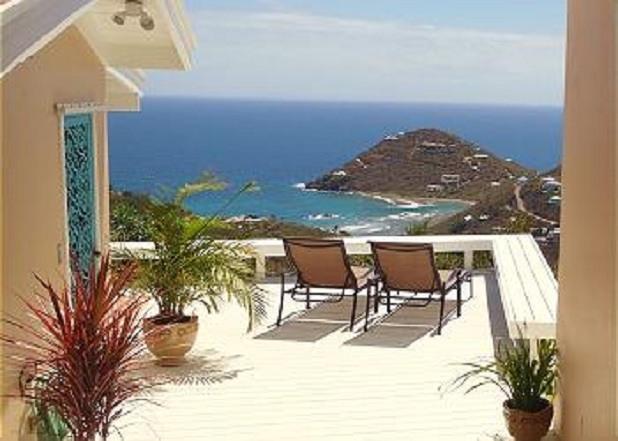 A panoramic view greets you upon entering - Magic View Villa - Cruz Bay - rentals