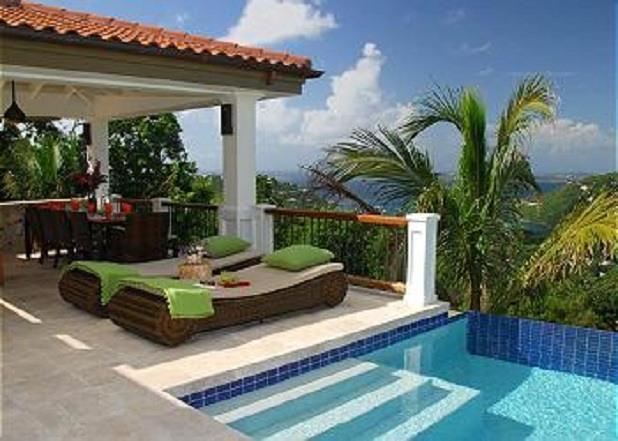 Abrigado, a breathtaking 4 bedroom luxury villa - Image 1 - Cruz Bay - rentals
