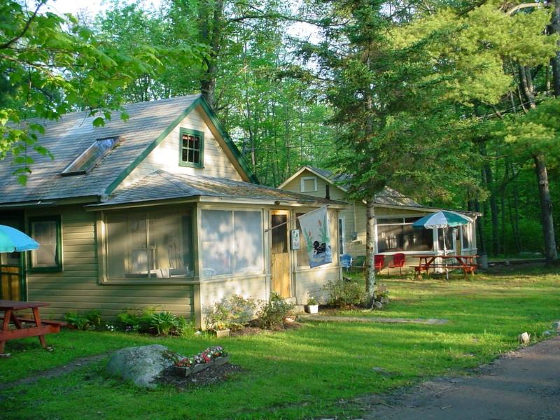 Perfect for two families - Two waterfront cottages, side by side Panther Pond - Raymond - rentals