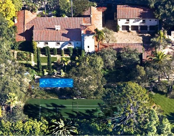Historical & Romantic Gated Montecito Estate with Pool, Spa and Tennis Court - 'Ravenscroft' Estate - Pool, Spa & Tennis Court - Santa Barbara - rentals