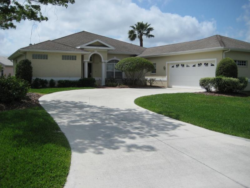 Front of our home - Lovely 3 BR Home with Office & Heated Pool at Tara - Bradenton - rentals