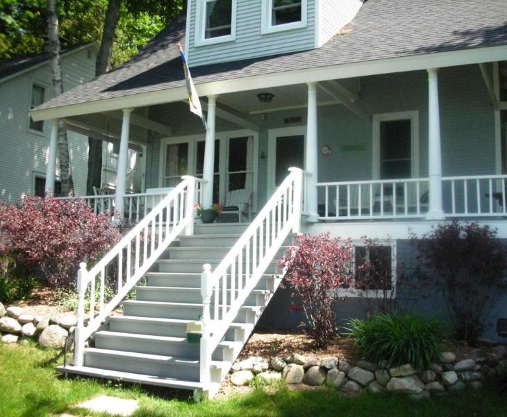 Wrap-around Porch - Lakefront Cottage - Petoskey - rentals