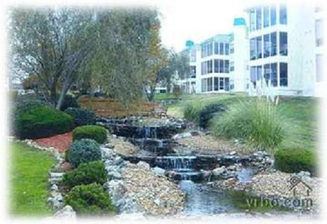 View from the porches - 3BR/3BA Meadow Brook Condo in a GREAT LOCATION - Branson - rentals