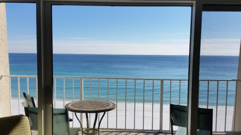View from living room! - #604D*Beach Front*FREE Bch Svce*Incredible VIEWS!! - Miramar Beach - rentals
