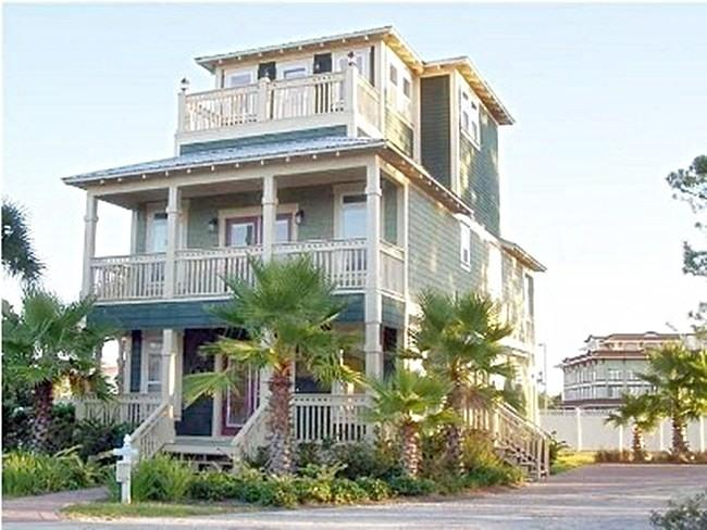 Front View of Our Emerald Coast Retreat - Destin Retreat, Ideal for Families - Miramar Beach - rentals