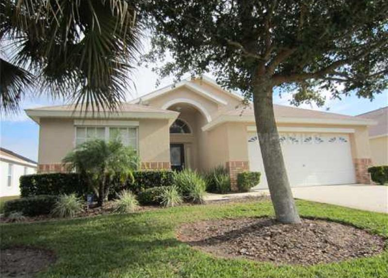 Front of the house - Less than 4 miles from Disney, 4br/3ba  pool/spa - Four Corners - rentals