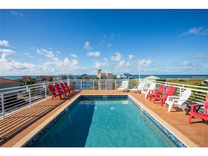 Rooftop pool shared by only two units, your private elevator reaches this level. - 3 Bd's-Roof top Pool and Steps to Siesta Key Beach - Siesta Key - rentals