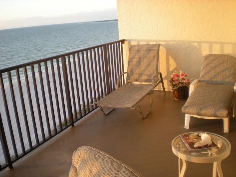 TAKEN FROM BALCONY  