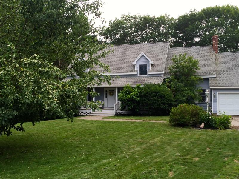 Front House view w/ Farmer's Porch and gardens - Beautiful Home! Only 2.5 miles to 4 beaches! - York - rentals