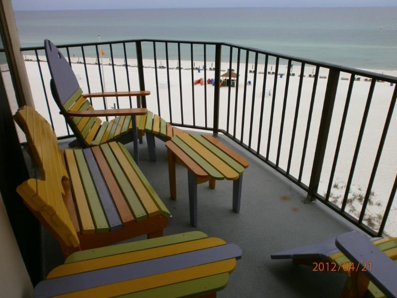 Gulf front condo at the Sunbird - Image 1 - Panama City Beach - rentals