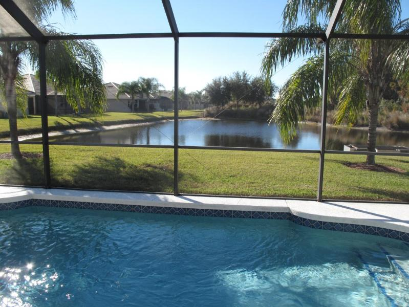 pool view - bradenton golf  pool home - Bradenton - rentals
