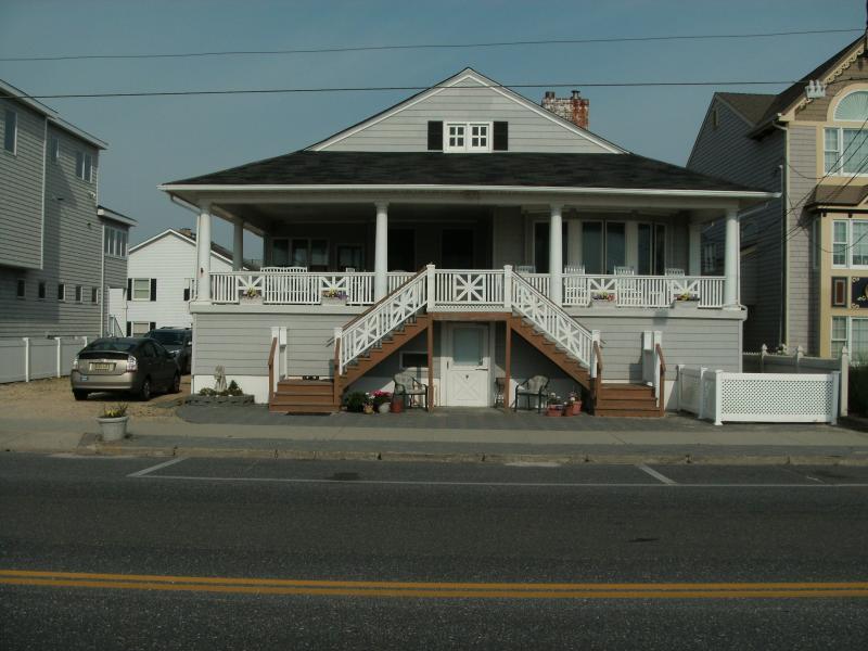 Main building on Ocean Ave - Oceanfront in Seaside Park - Seaside Park - rentals