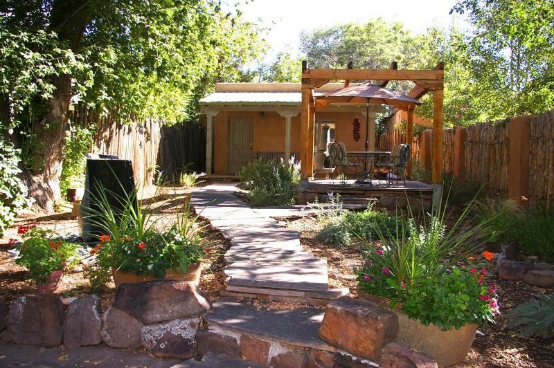 Casa Tres Hombres on Historic Canyon Road. - Image 1 - Santa Fe - rentals