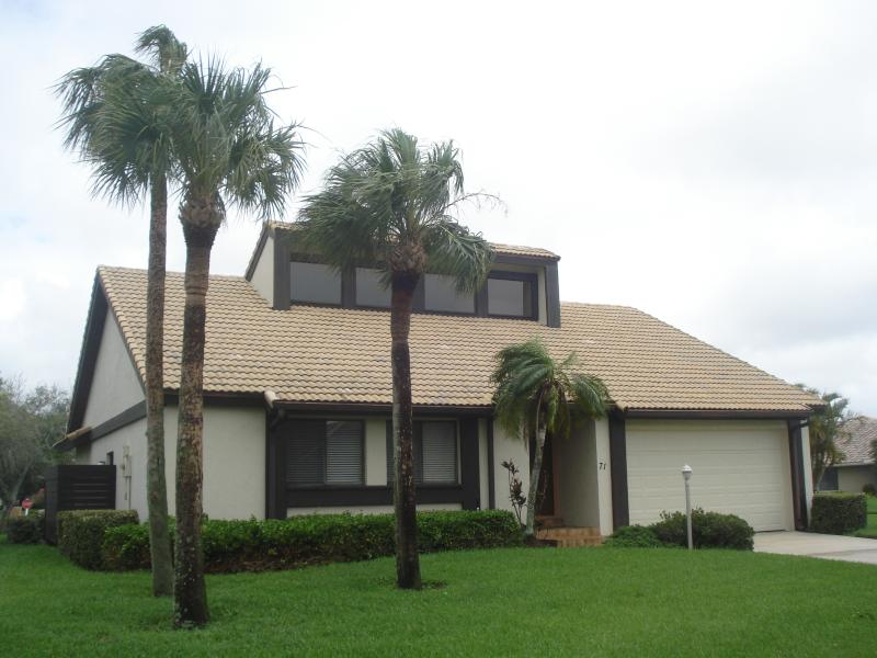 Front View of Home - Gated home  Venice  Nokomis Beach ( THE INLETS ) - Nokomis - rentals