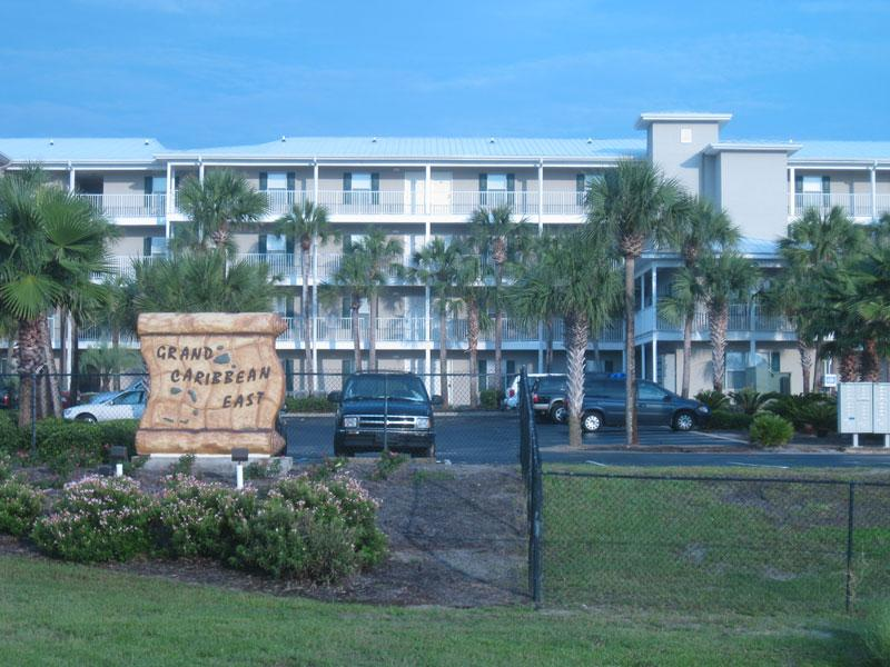 Arriving at front of the complex - Great rates - Perdido Key - rentals