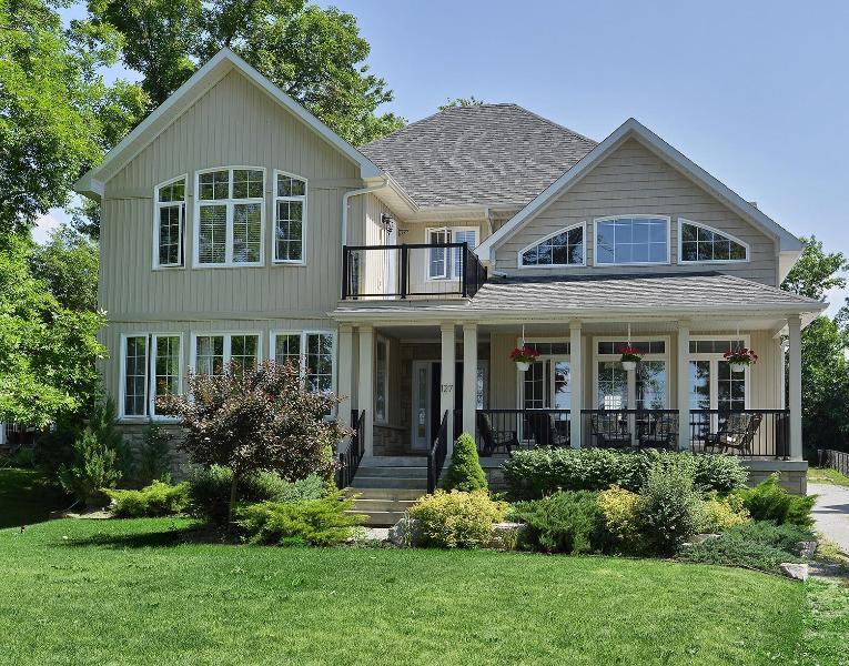 Fine home with stunning views of Lake Simcoe - Exquisite Executive Cottage on Lake Simcoe - Lake Simcoe - rentals