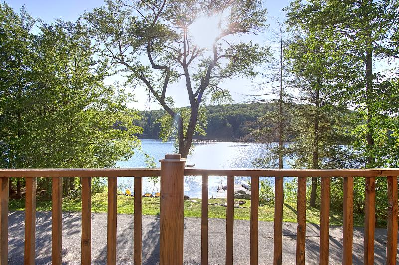 Lake House with a one of a kind view in Sand lake - Image 1 - Sand Lake - rentals