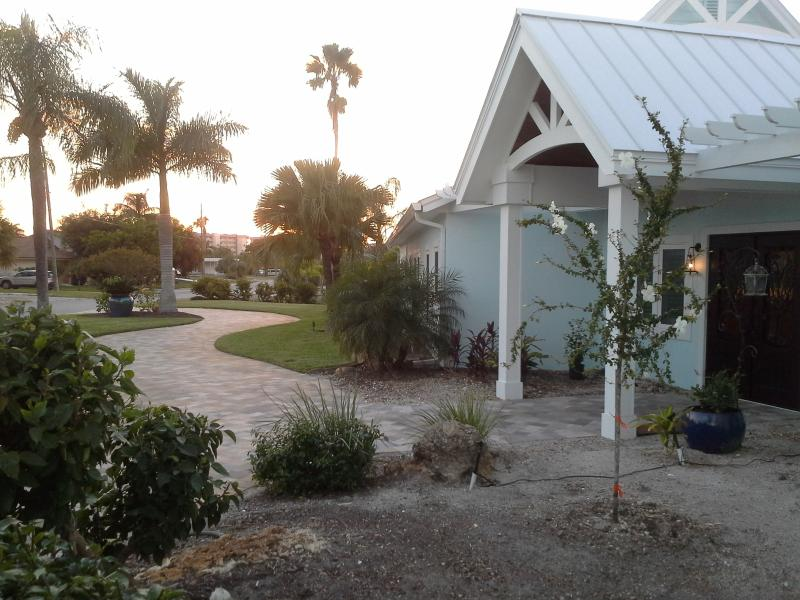 Entrance of Polynesian Villa - Polynesian Villa:  Fort Myers Beach House - Fort Myers Beach - rentals