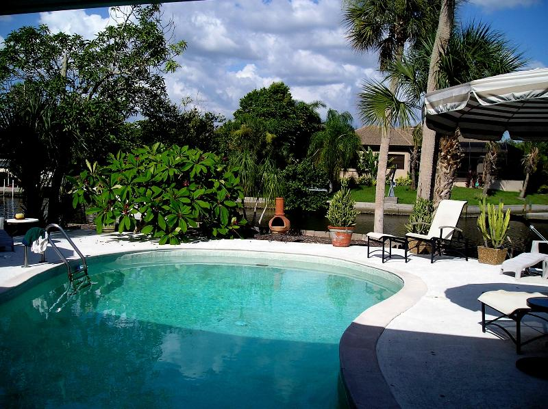 swimming pool - Siesta Key house/heated pool/on canal/min. 1 month - Sarasota - rentals