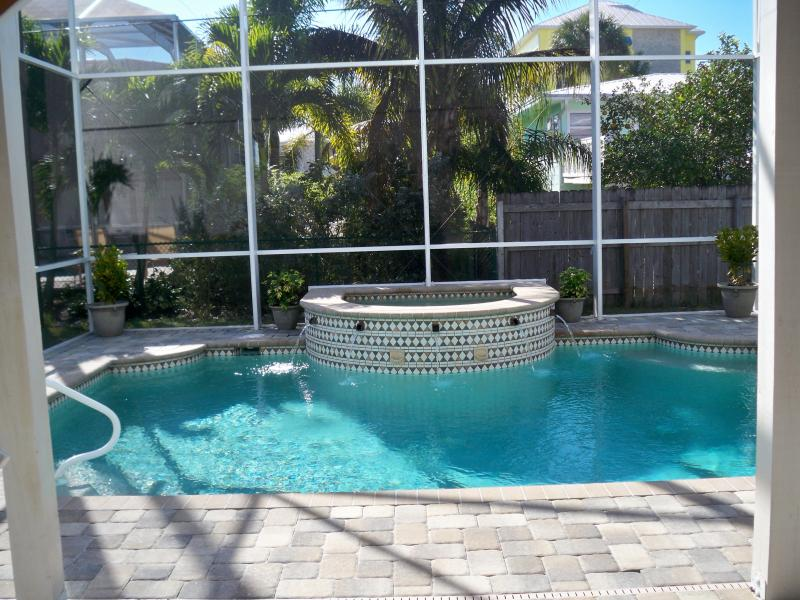 Pool & Spa - Beach House w/Heated Pool and Spa  (No Pets) - Fort Myers Beach - rentals