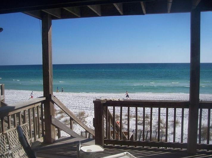 View from the bottom balcony - Best Gulf Front Rates Guaranteed! - Miramar Beach - rentals