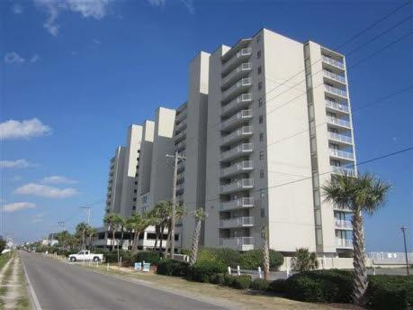 Building Front - Ultimate Oceanfront Condo - One Ocean Place - Garden City - rentals