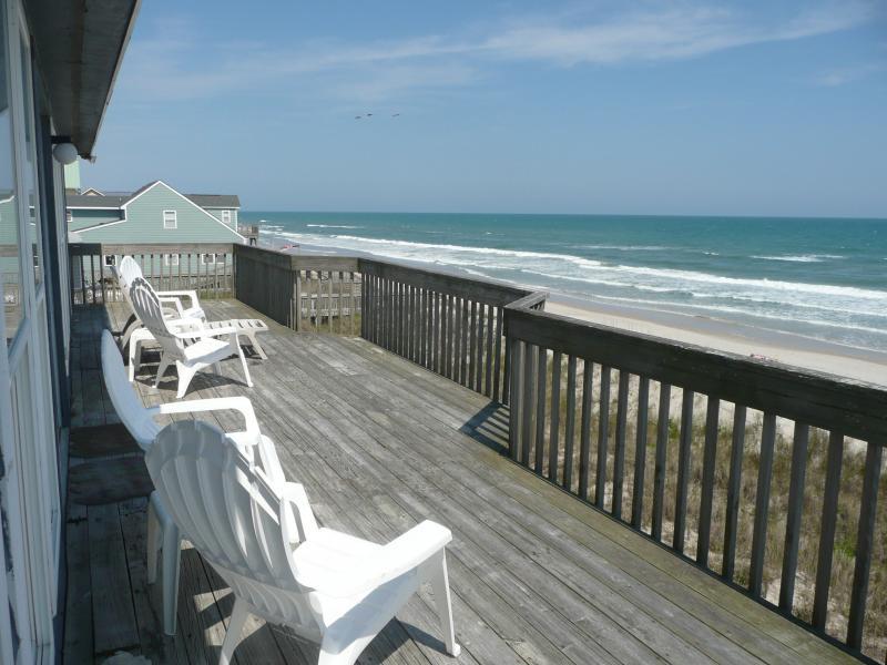 Top Floor Sundeck - Direct Oceanfront Pet Friendly Home - North Topsail Beach - rentals