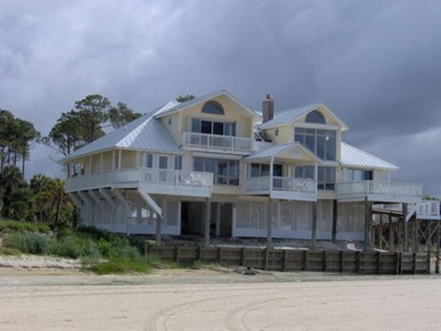 Bayou Belle : Beautiful 5 Bedroom Beachfront House - Image 1 - Port Saint Joe - rentals