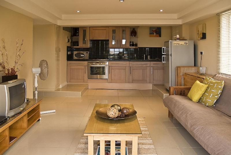 Modern & stylish living area with Italian fully fitted kitchen. - Rodney Bay Suites - Gros Islet - rentals