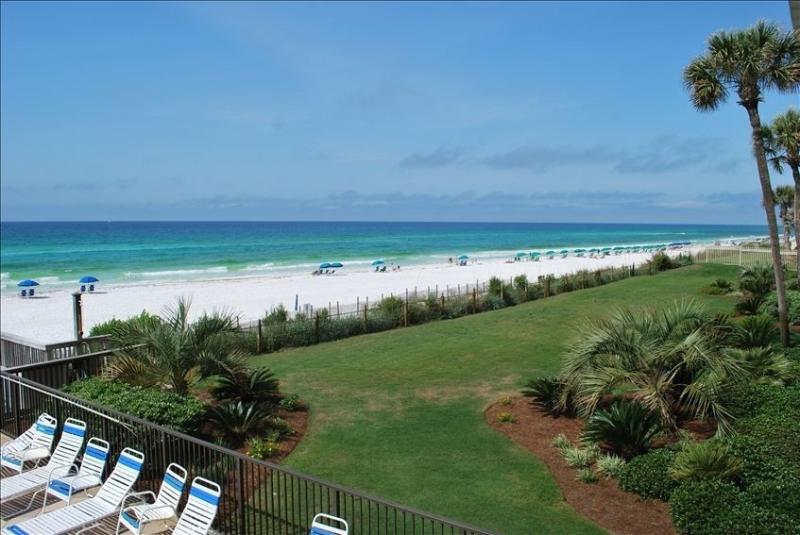 Western view from balcony - Beach Front Condo!! 2 BR 2 BA Great Location! - Destin - rentals