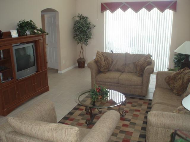 Spacious Lounge - Florida sunshine villa - Davenport - rentals