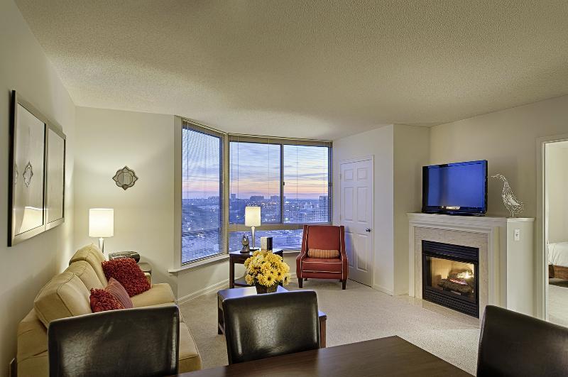Living Room - DC Area - Arlington 2 Bedroom / 2 Bath Apartment - Arlington - rentals