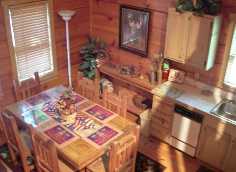 Dining/Kitchen - Enjoy Ole Glory the Americana Cabin in the Smokies - Sevierville - rentals