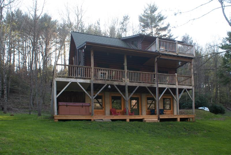 Riverfront Cabin at Todd - Image 1 - Boone - rentals