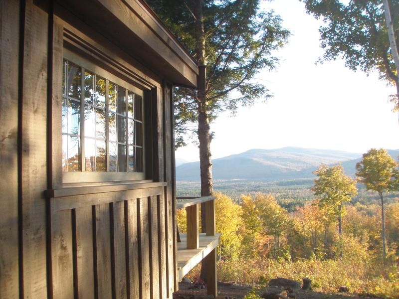 Autumn Splendor - Secluded rustic cabin on 70 acres- mountain views! - Andover - rentals