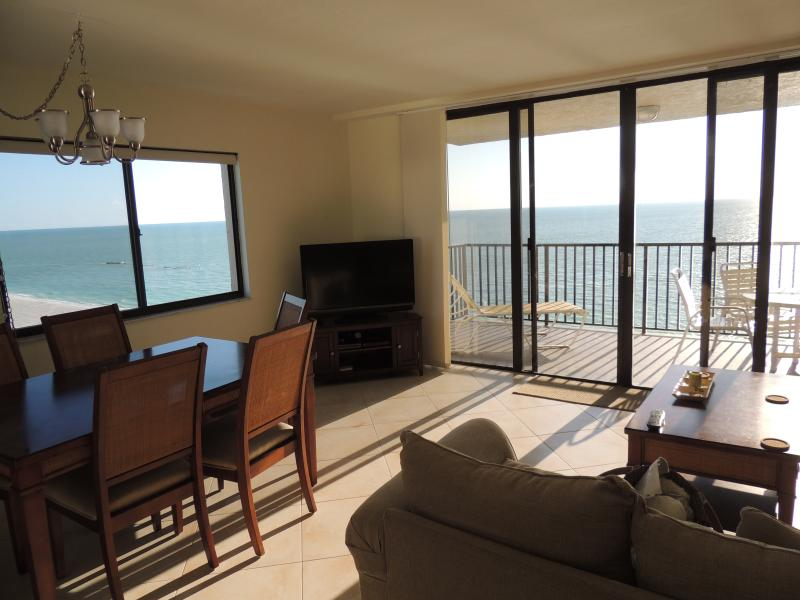 Sea Winds 1401 2BR, 2 Bath Beachfront Condo.  Great Views. $200 Sept. Discount - Image 1 - Marco Island - rentals