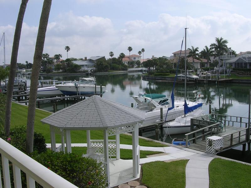 View from balcony - Luxury Waterfront minutes to beaches and shopping! - Tierra Verde - rentals
