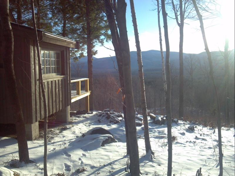 Panoramic mountain views from every window, beautiful every season! - Secluded rustic cabin on 70 acres- mountain views! - Andover - rentals