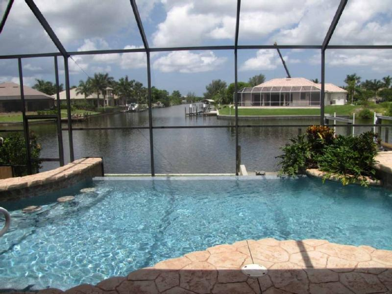 Gulf Access Waterfront Wonderland with Heated Pool - Image 1 - Cape Coral - rentals