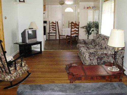 Looking to kitchen area from Living room - SIDERI - Affordable Vacation.  Small pet possible - Old Orchard Beach - rentals