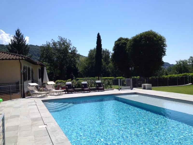 The Pool is 8m x 12m - Italian Villa located 15 min drive from Lucca - Valdottavo - rentals
