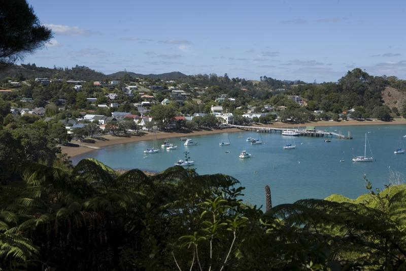 A view of Russell village from one of our walking tracks! - Holiday In Paradise: Bay of Islands, New Zealand - Russell - rentals
