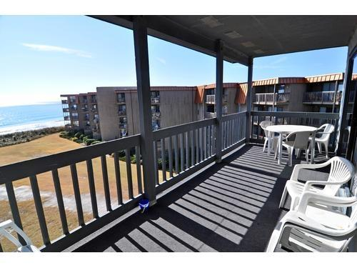 Balcony View 2 - OCEAN FRONT CONDO. MARCH 26-APRIL 30 SAVE $50.00 - North Topsail Beach - rentals