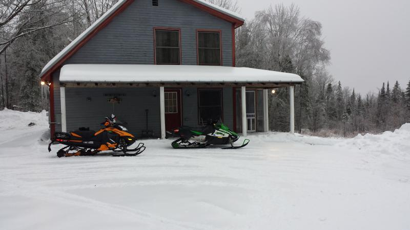 Snowmobile,hunting,fishing,sking,relaxing home - Image 1 - New Portland - rentals